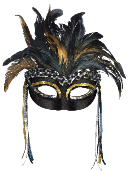 Glitzy Goddess Mask