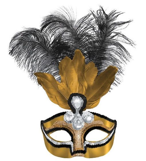 Glitzy Temptation Mask