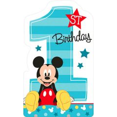 ©Disney Mickey's Fun To Be One Invitations, 8ct