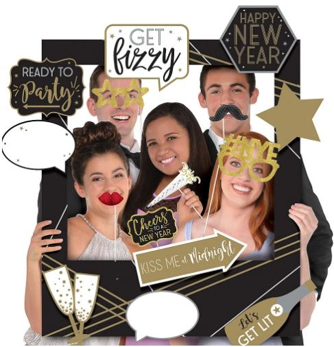 New Year's Customizable Giant Photo Frame
