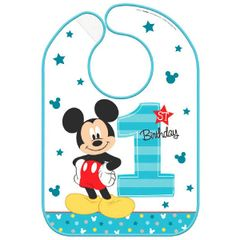©Disney Mickey's Fun To Be One Baby Bib
