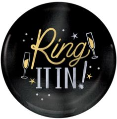 """Ring It In Coupe Plates, 7 1/2"""" - 20ct"""