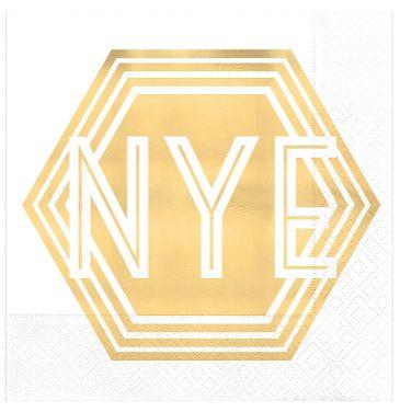 New Year's Eve Beverage Napkins, 16ct