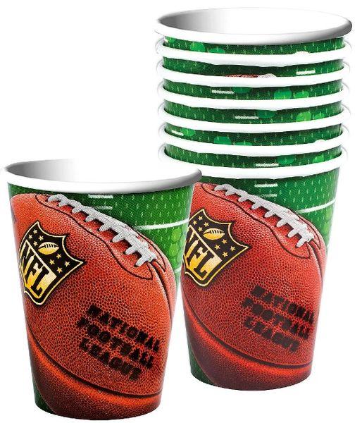 NFL Drive Cups, 12oz - 8ct