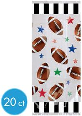 Championship Football Cello Party Bags