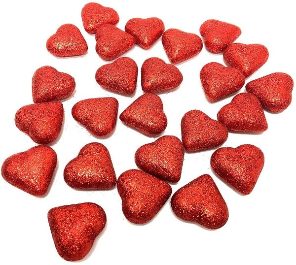 Red Heart Scatters, 24ct