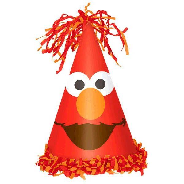 Sesame Street® Elmo Turns One Cone Hat