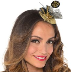 Glitzy Clip-On Couture Hat