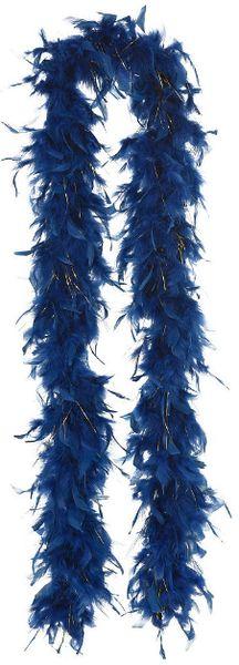 Midnight Feather Boa