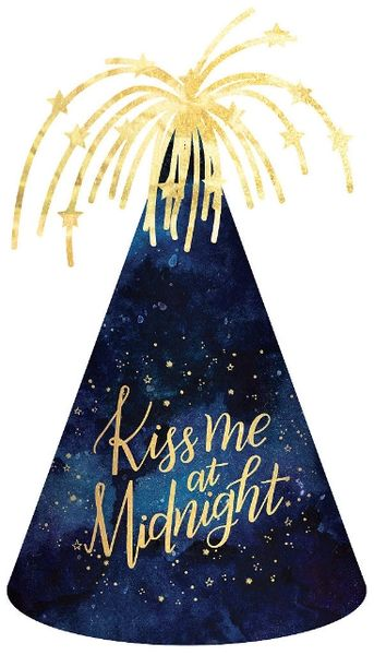 Kiss Me At Midnight Cone Hat