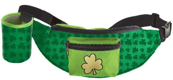 St. Patrick's Day Fanny Pack w/Beverage Holder