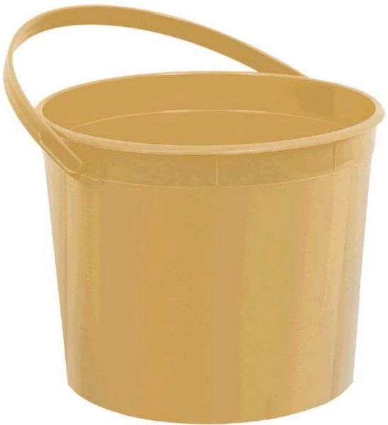 Gold Plastic Bucket