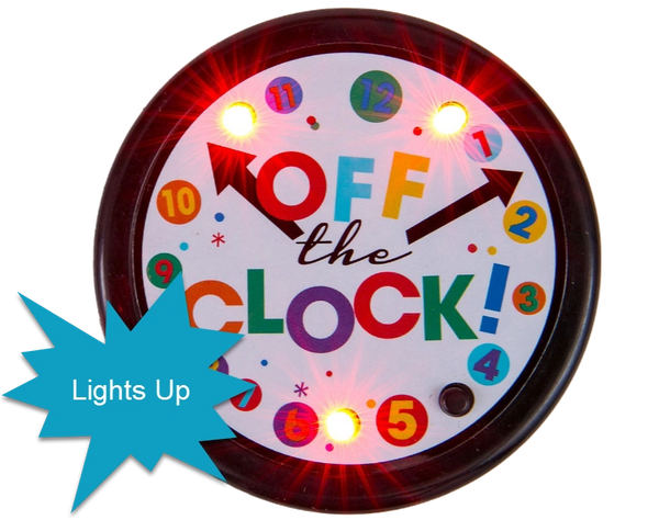 Light-Up Happy Retirement Celebration Button