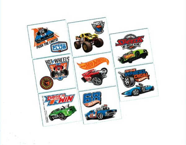 Hot Wheels Wild Racer™ Tattoo Favors, 8ct