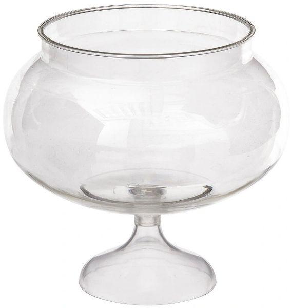 Short Round Pedestal Jar, 60oz