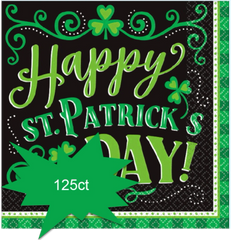 Clover Me Lucky Beverage Napkins, 125ct