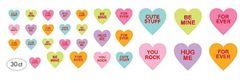 Conversation Heart Cutouts, 30ct