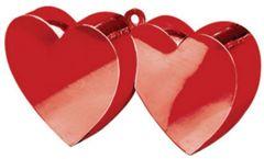 Double Heart Balloon Weight