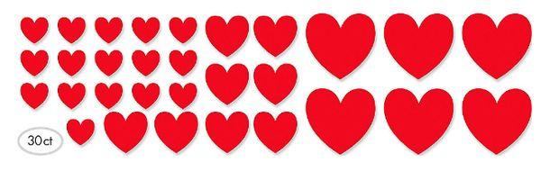 Paper Heart Mega Value Pack Cutouts, 30ct