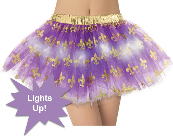 Mardi Gras Light-Up Tutu