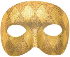 Harlequin Domino Mask