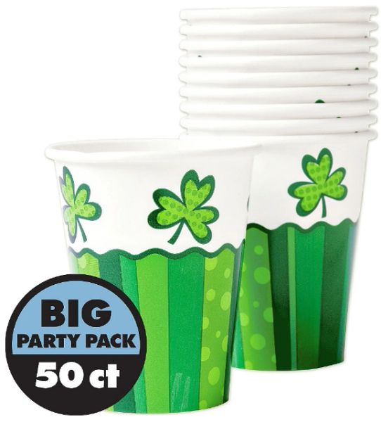 St. Patrick's Day Cheer Cups, 50ct