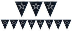 Dallas Cowboys Pennant Banner, 12ft