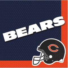 Chicago Bears Luncheon Napkins, 16ct