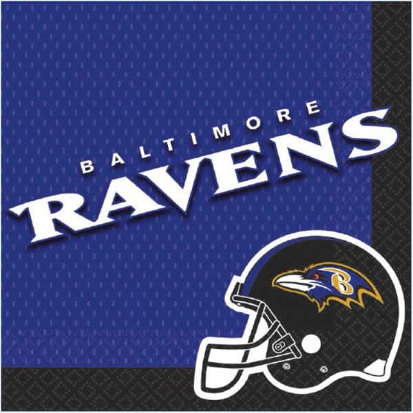 Baltimore Ravens Luncheon Napkins, 16ct