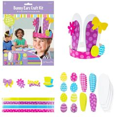 Bunny Ears Craft Kit for 4