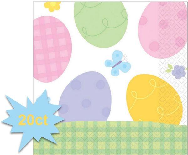 Eggstravaganza Luncheon Napkins, 20ct