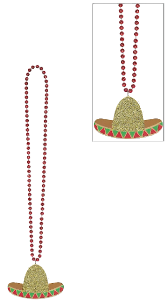 Cinco Sombrero Necklace