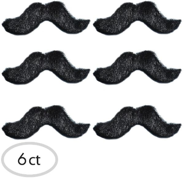 Fiesta Moustaches, 6ct