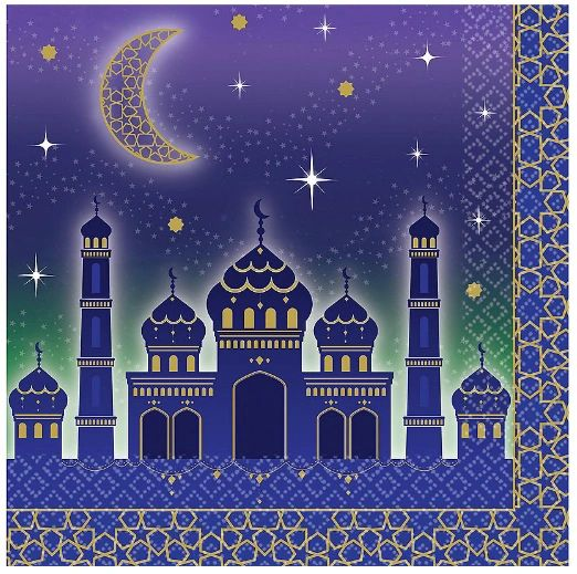 EID Celebration Luncheon Napkins, 16ct