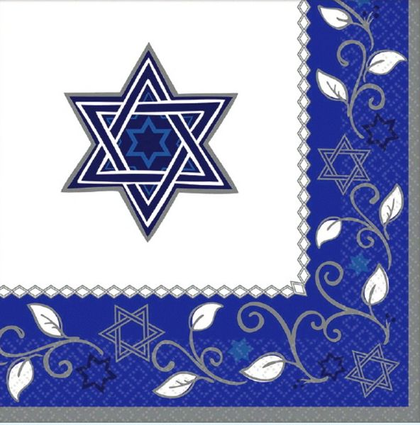 Joyous Holiday Passover Lunch Napkins, 16ct