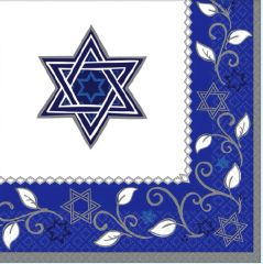 Joyous Holiday Passover Beverage Napkins, 16ct