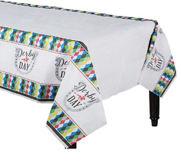Derby Day Paper Table Cover