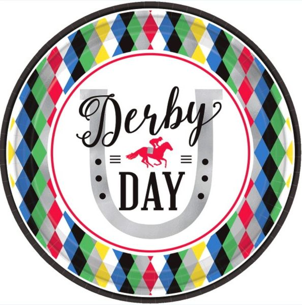 Derby Day Lunch Plates, 8ct