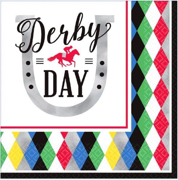 Derby Day Luncheon Napkins, 16ct