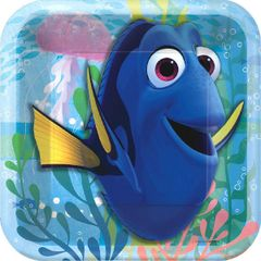 ©Disney/Pixar Finding Dory Square Plate, 7""