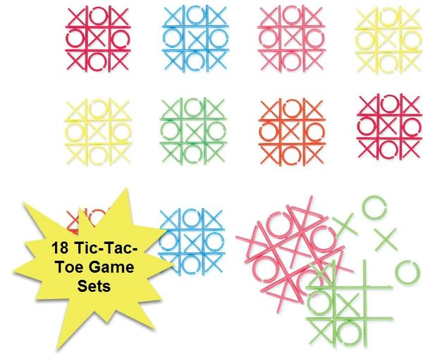 Tic Tac Toe, 18ct