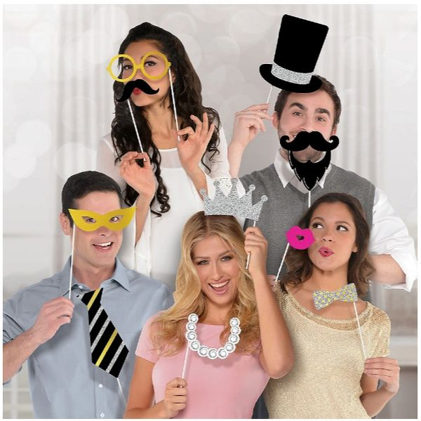 Photo Booth Photo Props - Fancy Party, 13ct