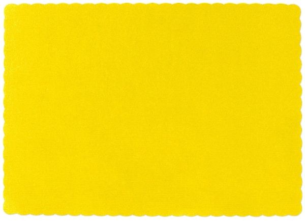Big Party Pack Yellow Sunshine Paper Placemats, 50ct