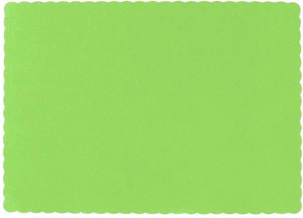 Big Party Pack Kiwi Paper Placemats, 50ct