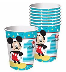©Disney Mickey's Fun To Be One Cups, 9oz - 8ct