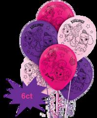 ©Disney Palace Pets Latex Balloons, 6ct