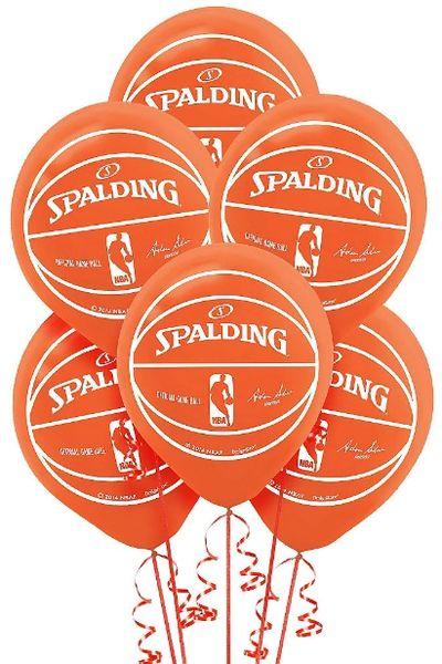 Spalding Latex Balloons, 6ct