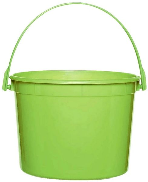 Kiwi Plastic Bucket w/Handle