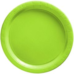 "Big Party Pack Kiwi Lunch Paper Plates, 9"" - 50ct"