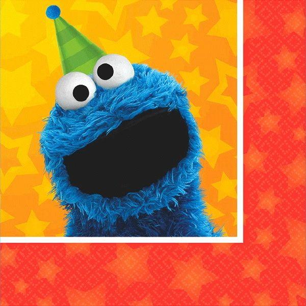 Sesame Street® Beverage Napkins, 16ct